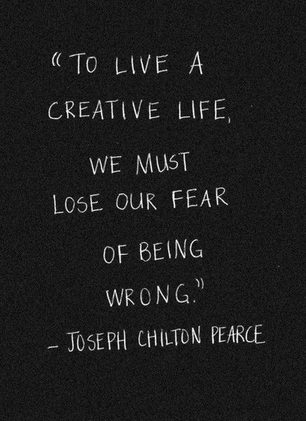 fear of being wrong quote, 11-19-18